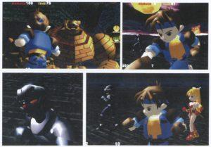Shadow, Locke och Terra i full 3d i stridsposition.